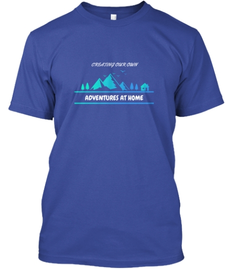 Adventures At Home Tee 1